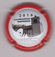 Capsule Champagne MASSIN Thierry ( 6a ; Placomusophiles Montrondais 2016 ) {S27-20} - Champagne