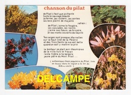 DF / 42 LOIRE / PLANTES ET CHANSON (PAROLES) DU PILAT - France