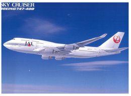 (A 37) Japan - JAL Airline 747 - Airplane / Avion - Avions