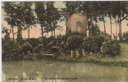 Vilvoorde - Ruines In Het Park - (gekleurde En Gelopen Kaart Met Zegel) - Vilvoorde