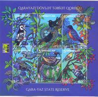 2018. Azerbaijan,RCC, Nature Reserve Garayaz, Birds, S/s, Mint/** - Azerbaïjan