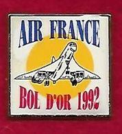 @@ Avion Concorde Air France BOL D'OR  1992 (2.3x2.3) @@avi18 - Avions