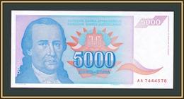 Yugoslavia 5000 Dinars 1994 P-141 (141a) UNC - Jugoslavia