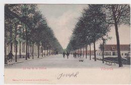 Vilvoorde - Stationstraat  (gekleurde En Gelopen Kaart Met Zegel) (kaart Van Voor 1900) - Vilvoorde