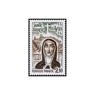 Timbre N° 2249 Neuf ** - 4ème Centenaire De La Mort De Sainte Thérèse D'Avila. - France
