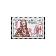 Timbre N° 2250 Neuf ** - Cavelier De La Salle. Découverte De La Louisiane En 1682. - France