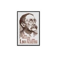 Timbre N° 2251 Neuf ** - Hommage à Léon Blum. (1872-1950). Ecrivain Et Homme Politique. - France