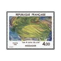 Timbre N° 2300 Neuf ** - Série Artistique. Les 4 Coins Du Ciel De Jean Messagier. - France