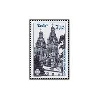 Timbre N° 2370 Neuf ** - 58ème Congrès De La Fédération Des Sociétés Philatéliques. La Cathédrale De Tours. - France