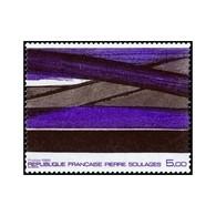 Timbre N° 2448 Neuf ** - Série Artistique. Oeuvre De Pierre Soulages. - France