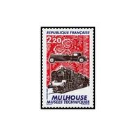 Timbre N° 2450 Neuf ** - Les Musées Techniques De Mulhouse. Automobile, Locomotive, Et étoffe Imprimée. - France