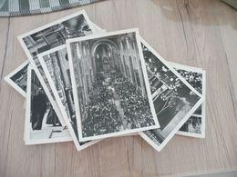 Reportage 28 Photos 13 X 18  Originales Studio Pierre Tours Congrès Pélerinage ACI à Rome 1961 - Albums & Collections