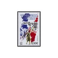Timbre N° 3675 Neuf ** - 60ème Anniversaire Des Débarquements Et De La Libération. - Frankreich