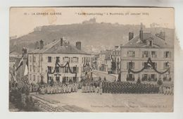 "CPA MILITAIRE MONTMEDY (Meuse) - ""KAISERSGEBURTSTAG"" Le 27 Janvier 1915 - Militaria"