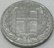 Moneda 1971. 10 Aurar. Islandia. KM 10a. MBC - Islande