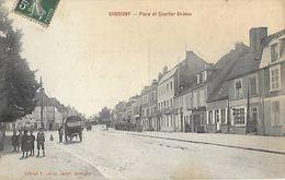 58 - Nièvre - CORBIGNY - Place Du Quartiet St Jean - Corbigny