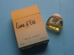 """"""" Lune D'Eté Paris """" Eau De Parfum ( 5 Ml ) Original Boite/Box ( Good Condition ) Voir Scans ! - Miniatures Femmes (avec Boite)"""