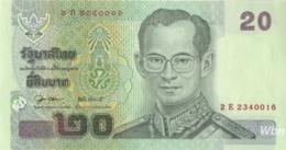 Thailand 20 Baht (P109) Sign 79 -UNC- - Tailandia