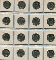1971 10 Fr. ** Boudewijn I - 16 Stuks VL -                        Ref 939 - 06. 10 Francs