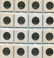 1972 10 Fr. ** Boudewijn I - 16 Stuks FR  -                        Ref 941 - 06. 10 Francs