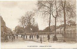 QUIMPER : AVENUE DE LA GARE - Quimper