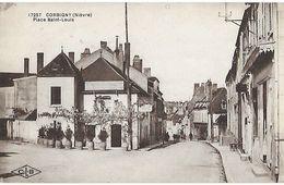 58 - Nièvre - CORBIGNY - Place Saint Louis - Corbigny