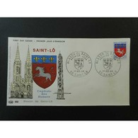 FDC - Blason De Saint Lo - 17/12/1966 Saint Lô - FDC
