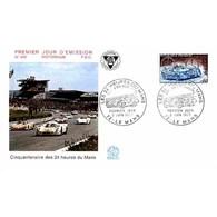 FDC N° 842 - Les 24 Heures Du Mans - 2/6/1973 Le Mans - FDC
