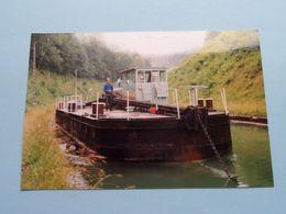BINNENVAART > Lichter / Vracht ( Voir / See Photo > Format PK / CP ) 4 Stuks ( Egalite ) ! - Boats