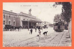 X66368 PERPIGNAN (66)  La GARE Tramway Electrique  1910s Edition LE VERGES 67 Pyrénées Orientales - Perpignan