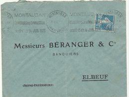 ESC OMEC Montauban 1926 - Marcophilie (Lettres)