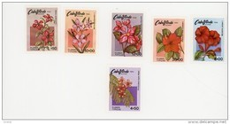 Cap Vert-Cabo Verde-1980-Fleurs...YT 437/42***MNH- - Cape Verde