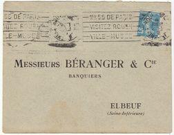 (2 Scans)  2 ESC OMEC Rouen - Marcophilie (Lettres)