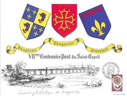 Souvenir Philatélique De L'Exposition VIIème Centenaire Pont Saint Esprit 11&12/09/1965 - France