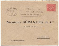 (5 Scans)  5  ESC OMEC Le Havre - Marcophilie (Lettres)