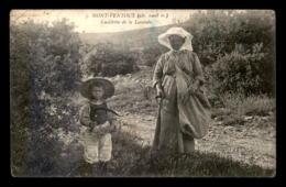 84 - MONT-VENTOUX - CUEILLETTE DE LA LAVANDE - Sonstige Gemeinden