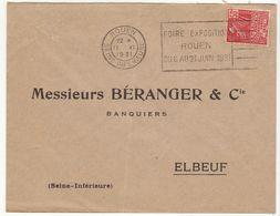 (6 Scans)  6  ESC OMEC Le Havre - Marcophilie (Lettres)