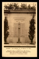 84 - AVIGNON - MONUMENT DU 7EME RGT DU GENIE INAUGURE LE 11 NOVEMBRE 1934 - Avignon