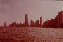 Photo Diapo Diapositive Slide USA ETATS UNIS N°12 Chicago Marina Illinois VOIR ZOOM - Diapositives