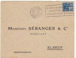 (2 Scans)  2 ESC OMEC Le Havre - Marcophilie (Lettres)