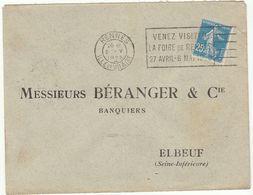 (3 Scans)  3 ESC OMEC Rennes - Marcophilie (Lettres)