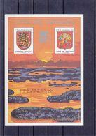 Vatican - Vignette - Bloc émis Pour L'exposition Finlandia 1988 ** - Armoiries - - Blocs & Feuillets