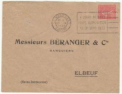 (2 Scans)  2 ESC OMEC Le Mans Gare - Marcophilie (Lettres)