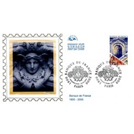 CEF Soie - Bicentenaire De La Banque De France - 15/1/2000 Paris - 2000-2009