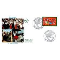 FDC JF - Folklores De France - 12/8/2000 Biarritz - FDC