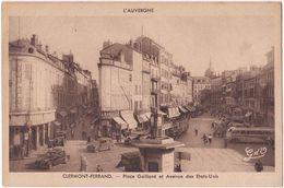 63. CLERMONT-FERRAND. Place Gaillard Et Avenue Des Etats-Unis. 1071 - Clermont Ferrand