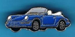 1 PIN'S //  ** PORCHE 911 CARRERA / CABRIOLET ** - Porsche