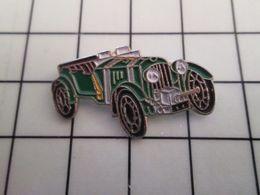 415b Pin's Pins / Rare & Belle Qualité !!! THEME : AUTOMOBILES / VOITURE ANNEES 30 VERT ANGLAIS A IDENTIFIER - Pin's & Anstecknadeln