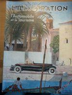 Illustration Automobile Tourisme 1933 Le Mans Lambesc Dot Arcachon St Tropez Aigoual Monna Luceram Sospel Renault - Zeitungen