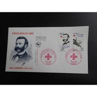 FDC - Croix Rouge 2009, Henry Dunant - Oblit 19/9/2009 Paris - FDC